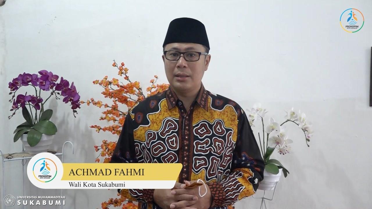 Achmad Fahmi Lepas 677 Mahasiswa UMMI Ikuti KKN Tematik 2021