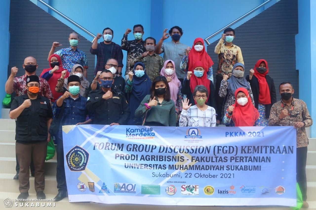 Prodi Agribisnis UMMI Gelar FGD Bersama 17 Mitra : Sinergitas  Membangun Kerjasama  Produktif dan Berkualitas