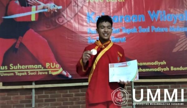 M. Maulana Rizki, Student of Informatics Engineering Department Goes To Tapak Suci World Championship